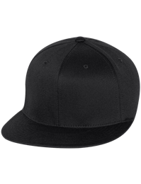 Flexfit Wooly Twill Pro Baseball On-Field Shape Flat Bill Cap