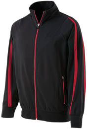100% Poly Agil-Knit™ Full Zip Determination Jacket