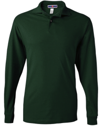 Long-Sleeve Jersey Polo