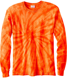 Spider Long Sleeve Tie Dye Tee