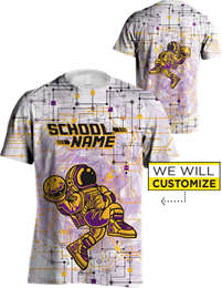 Dye Sublimation Tee: Electrode